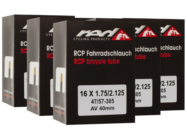 "Red Cycling Products Fahrradschlauch 16"" 47-305 6er Set"